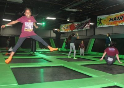 FlipnFun Trampoline Attraction